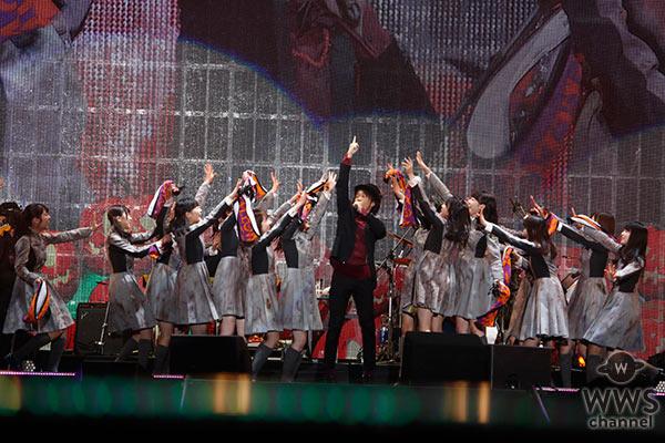 欅坂46 きゃりー Dream Amiらがハロウィン衣装で登場!トリはナオト<日テレハロウィンライブ2日目>
