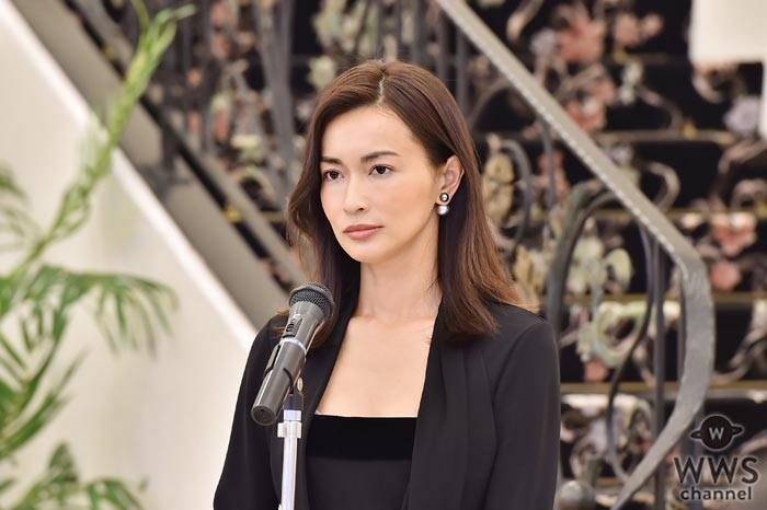 長谷川京子が30万部突破のベストセラー小説ドラマ化で伝説のスピーチライター役に挑む!「言葉が持つ力を皆さんに再確認してもらえたら嬉しいです」