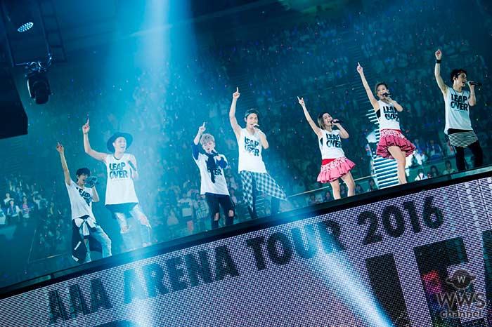 AAAの最新ライブはdTVで楽しめる! AAA自身初となるドーム公演を11月16日に独占生配信決定!