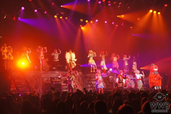 サイコ・ル・シェイム全国ツアーファイナルとなる豊洲PIT公演で15人編成のサイコ・ル・シェイム・オールスターズが登場!