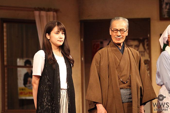 AKB入山杏奈が10/5より舞台『歌姫』で初出演!迫真の演技で感動の名作に挑む!
