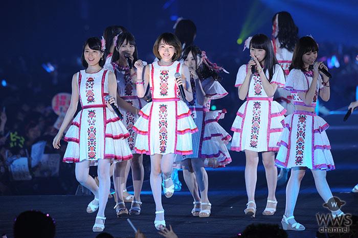 乃木坂46がTGC北九州で華やかなライブパフォーマンスで盛り上げる!