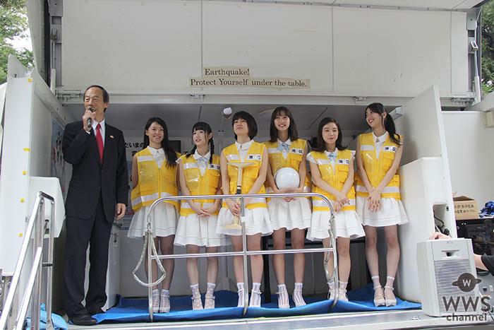 みなと区民まつりに防災アイドル「さんみゅ~」が登場!「防災士の資格を目指します!」