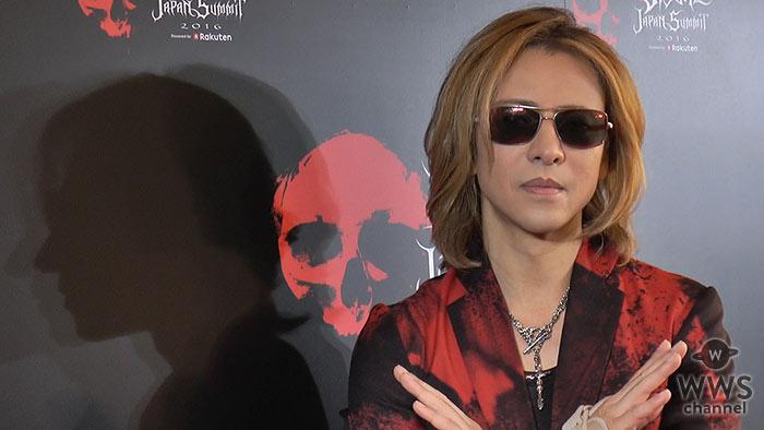 【動画】X JAPAN YOSHIKIがVISUAL JAPAN SUMMITに登場!「PATAがまた帰ってきてメンバー揃ってできるのは幸せ」