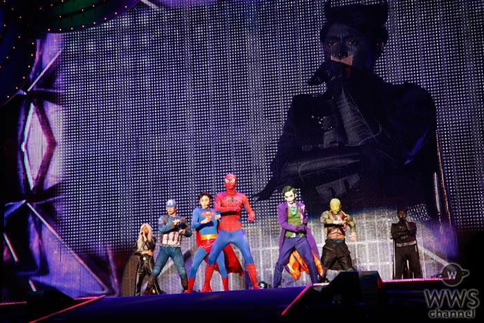 【ライブレポート】超特急がアメリカンヒーローの姿で日テレハロウィンの大トリを務める!まさかの新メンバー加入も!?