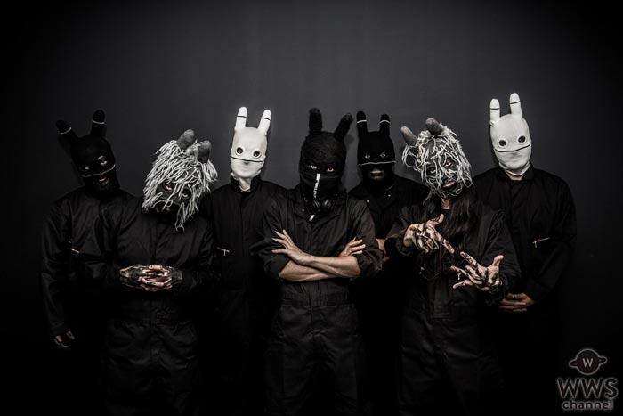 謎すぎて話題を呼んでいるウサギの覆面バンド CRAZY N' SANEが販売時にわずか30分で完売した幻の公式Tシャツを期間限定復活!