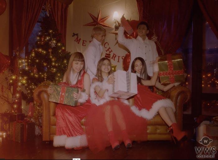 lol(エルオーエル)初のクリスマスソングMVが女性を中心に話題沸騰!「クリスマス女子会に真似したい!」