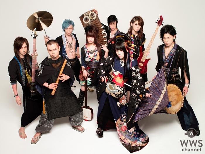 和楽器バンドが初の全国ホールツアーを開催!新感覚ロックエンタテインメントが全国18公演を駆け巡る!