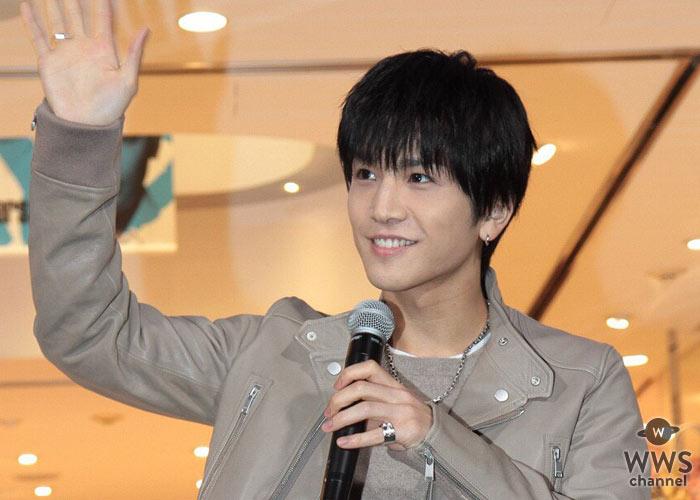 三代目JSB岩田剛典がサマンサタバサ 表参道 オープニングイベントの点灯式にサプライズで登場!