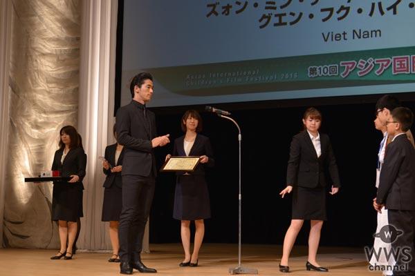 三代目JSBの小林直己、今市隆二が、西島隆弘(AAA)、西内まりやらと共に「アジア国際子ども映画祭2016」に参加!「子供達の心を感じました」
