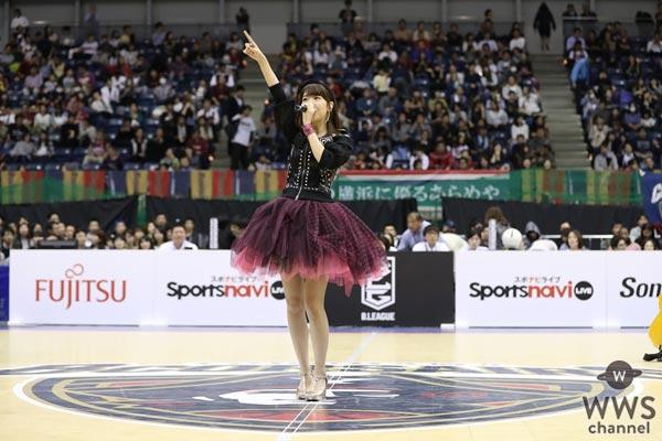 AKB48・NGT48の柏木由紀が初のスポーツイベントでのソロ歌唱で新曲『miss you』を初披露!