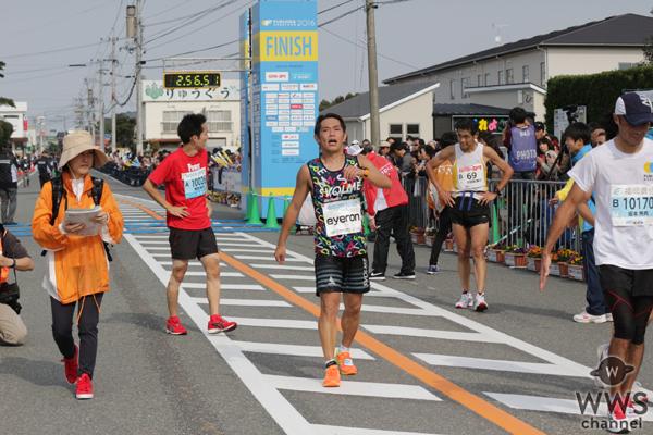 ソナーポケットのeyeron(アイロン)が有言実行!福岡マラソンを2時間56分で激走!