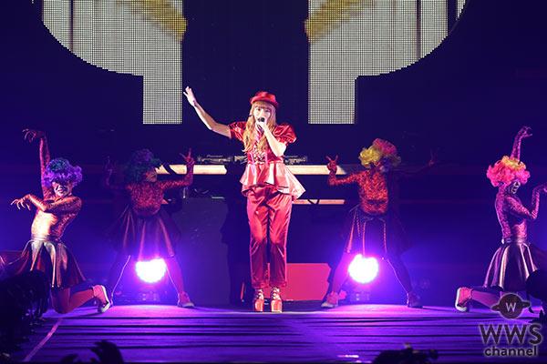 きゃりーぱみゅぱみゅがビビッドな全身赤コーデで『もしフェス2016』ステージのトリに登場!