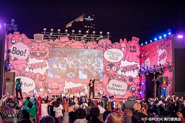 お台場で開催された「T-SPOOK」のトリは今年大ブレイクした岡崎体育。!ハロウィンも何のその。いつもの体育イズムで会場を爆笑の渦に!