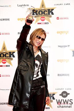 YOSHIKI、アジアで最も影響力のあるアーティストに贈られる「ASIAN ICON AWARD」を受賞!! 「この賞をX JAPAN、 HIDE、 TAIJIに捧げたい」