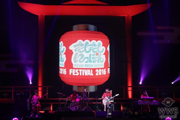 Silent Sirenが『もしフェス 2016』で熱唱!「海外の方にもライブを見てもらえて嬉しい」