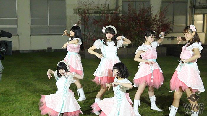 【動画】12/7デビューの「花」のアイドル・Flower Notesが夜の中庭でライブ!