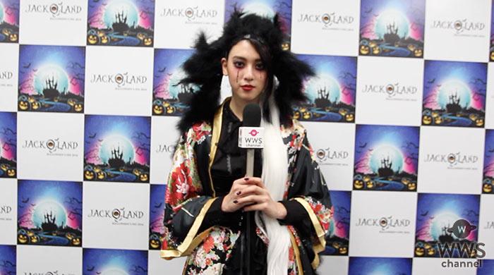 【動画】花魁姿がSEXYな三吉彩花にインタビュー!「ハロウィンでファッションショーはとても新鮮。」