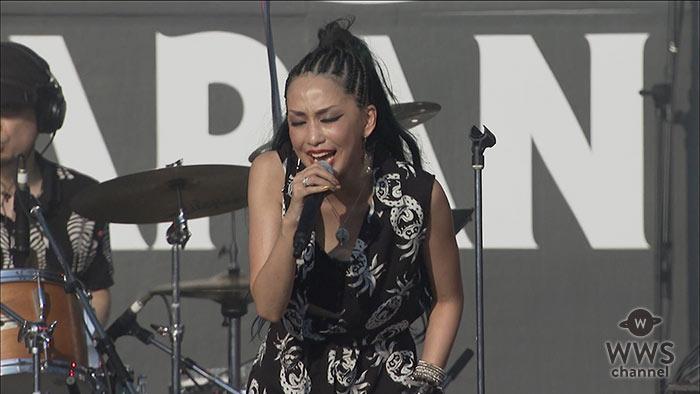 【動画】ROCK IN JAPAN FES.初出演の中島美嘉が名曲『GLAMOROUS SKY』を熱唱!