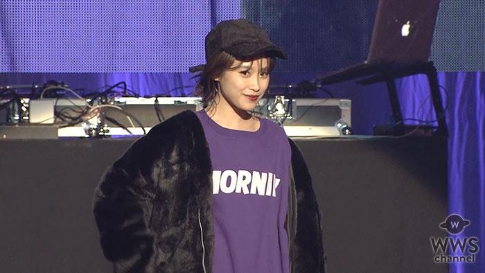 【動画】元モーニング娘。高橋愛がお台場でファッションショーに登場!