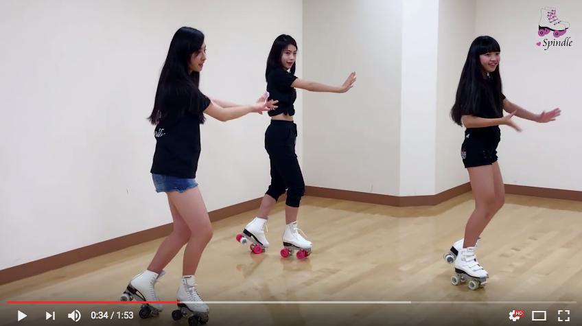 女性ローラースケートダンスグループ・Spindle(スピンドル)が話題の『逃げ恥』恋ダンスを披露!