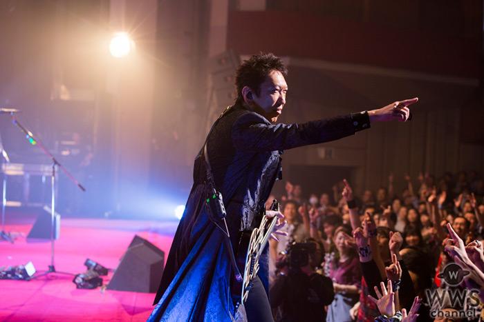 【ライブレポート】布袋寅泰が35周年ツアーファイナル公演開催!「おれも頑張ったけど、皆にも本当に心から感謝しています」