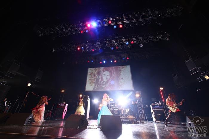 Aldiousがhide Birthday Party2016に出演!妖艶なメロディックメタルを響かせる中、hideのカバー曲『DICE』も披露!