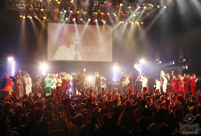 hide Birthday Party 2016でhide with Spread Beaver メンバーやX JAPAN PATAなど総勢18組が集結!ラストは会場全員で『TELL ME』を大合唱!