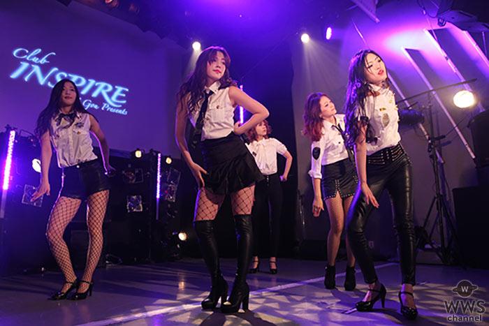 個性派揃いの5人組ガールズグループ・ROZEがSEXY過ぎる黒衣装で圧巻のライブパフォーマンス!<メンバーコメント掲載>