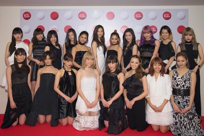 E-girlsがNHK紅白のリハーサルに登場!MAKIDAIらの容態については「元気だと報告をもらっています」
