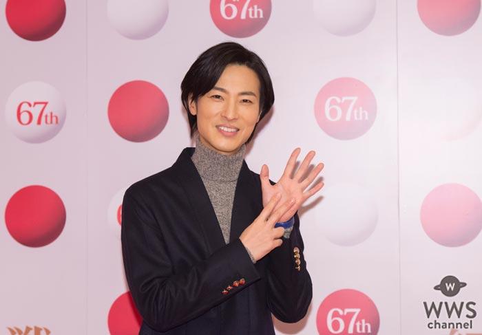 イケメン演歌歌手・山内恵介が紅白リハに登場!乃木坂46とのコラボについては「可愛い!みとれちゃいますね(笑)」
