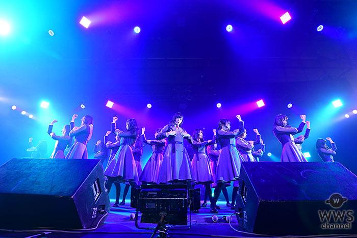 【ライブレポート】今年4月にデビューした欅坂46が初のカウントダウン・ジャパンに出演!