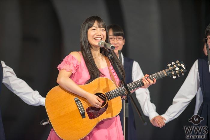 miwaが鮮やかなピンクのドレス姿でNHK紅白リハに登場!「みんなで一つになろう!」