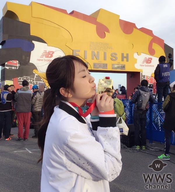 元SUPER☆GiRLSの荒井レイラがリベンジ達成!「諦めずに自分の弱さと向き合うことの大切さをフルマラソンを通じて学びました」