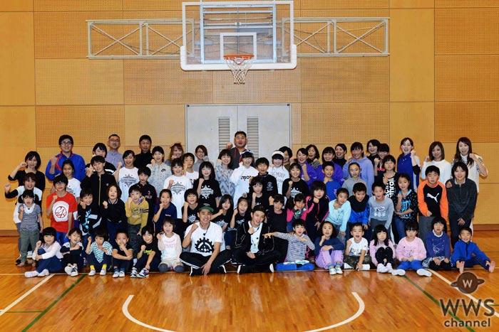 EXILE 佐藤大樹がダンスの先生としてサプライズ登場!子供達に『Choo Choo TRAIN』の振り付けを指導!