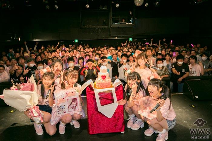 Ange☆Reve 佐々木璃花が「自分にはアイドルしかない!」と生誕祭で宣言!新衣装&新曲を初披露!