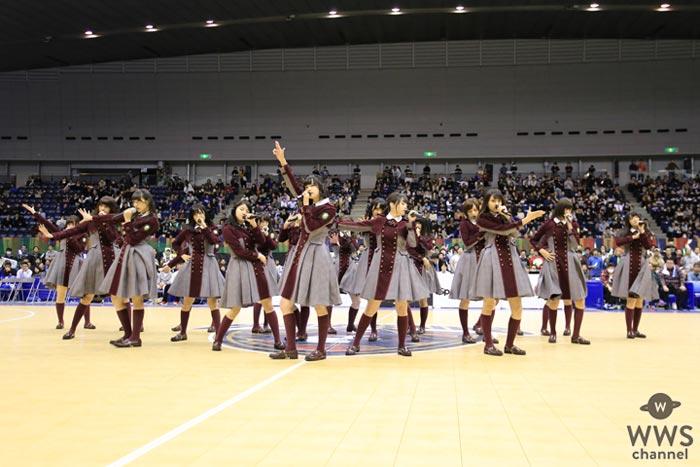欅坂46がスポーツイベントで初歌唱!4,000人を前に最新曲『二人セゾン』など披露!