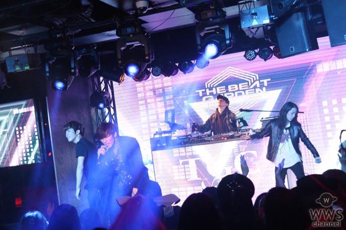 THE BEAT GARDENがTGC Nightで公式テーマ曲『Promise you』など披露!勢いのある迫力のパフォーマンス!