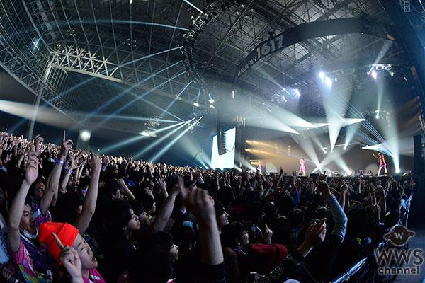 【ライブレポート】テクノポップユニット・Perfumeがカウントダウン・ジャパンに出演! EARTH STAGEに響き渡る電子音に会場はダンスフロアと化す!