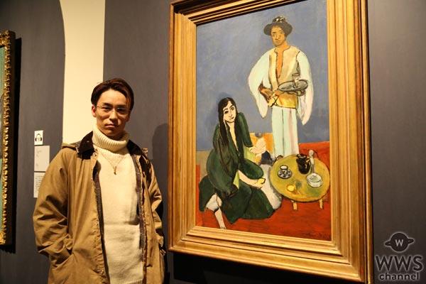 EXILE TETSUYAがデトロイト美術館展に来場!「本物が放つパワーに圧倒されました」