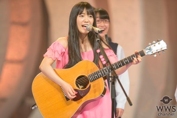 miwaが紅と白が融合した鮮やかなピンクのドレス姿でNHK紅白リハに登場!「みんなで一つになろう!」
