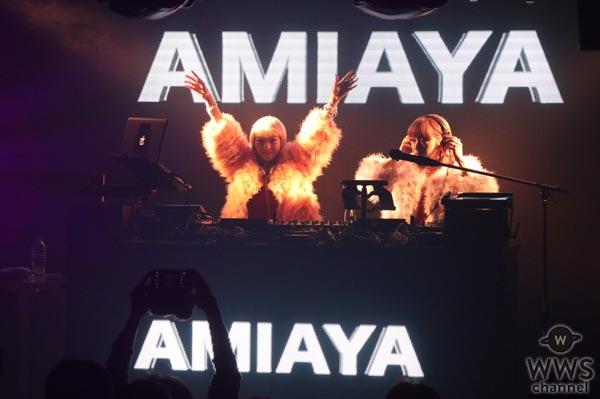 AMIAYAとFEMMがコラボステージ!TGC Nightは特別な世界に大変身!
