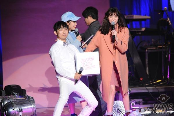 新川優愛がGIRLS TUNE FES 2016にサプライズ出演!「シ~ンとされたらどうしようかと不安だった」