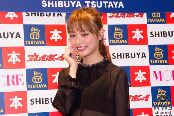 内田理央がセクシーすぎると話題の写真集の発売記念イベントに登場!「ドキッとしたカットが多めな写真集です」