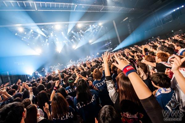SKY-HIがUVERworldとの対バンライブで初の日本武道館公演を発表!「今日死んだとしてもいいっていうステージにしてやるよ!」