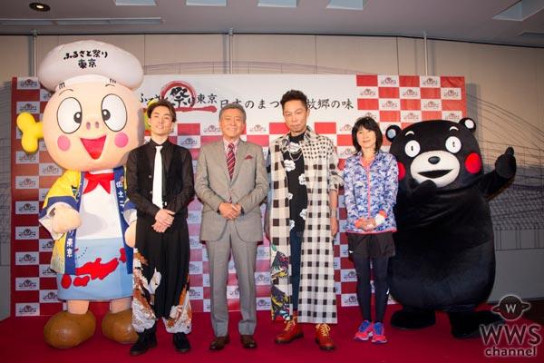 EXILE USA、EXILE TETSUYAが日本の食と祭りをPR!「盛り上げて最高の1年のスタートにしたい」