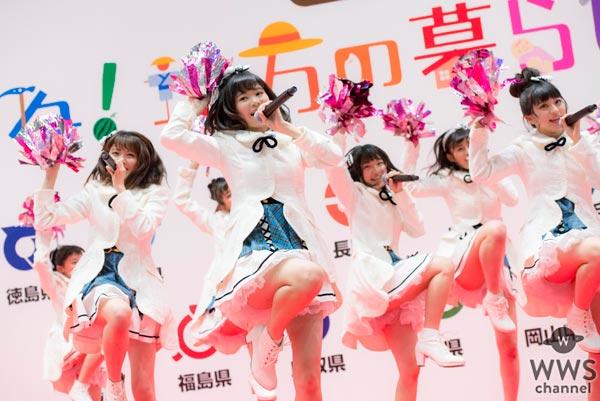 【ライブレポート】長野県新メンバーも登場!AKB48 チーム8「第2回 いいね!地方の暮らしフェア」で特別ライブ!