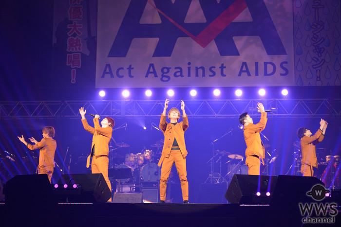 Da-iCEがAct Against AIDS(AAA)に登場!来年の日本武道館ワンマンにも期待が高まる堂々としたパフォーマンス!