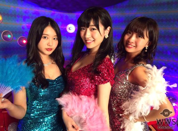 SUPER☆GiRLSがセクシーボディコン姿を新曲『恋☆煌メケーション!!!』MVで披露!