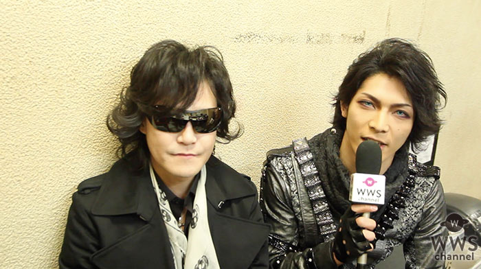 【動画】X JAPAN Toshlがアルルカン 翔平と2ショットインタビュー!2月12日開催「VISUAL ROCK NIGHT」への思いを語る!